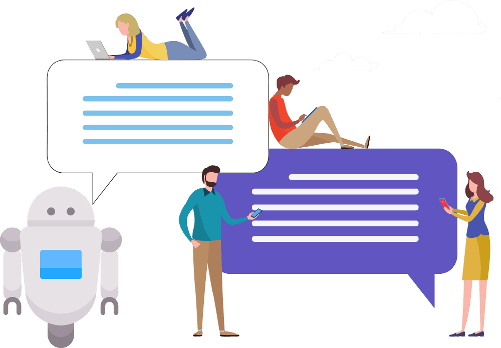 Chatbot writing and design